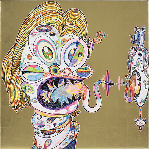 Takashi Murakami, 'Homage to Francis Bacon, Study for Head of Isabel Rawsthorne', 2016, Vogtle Contemporary