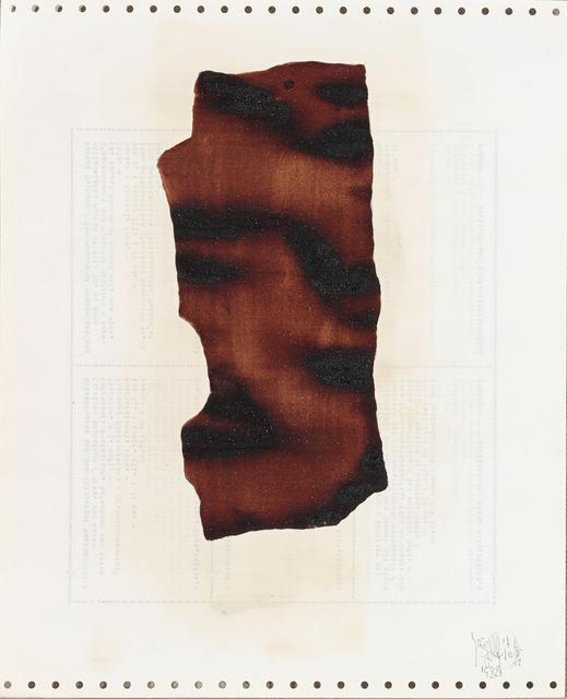 , 'Soy Sauce Drawings 7 酱油画 7,' 1988, Ink Studio
