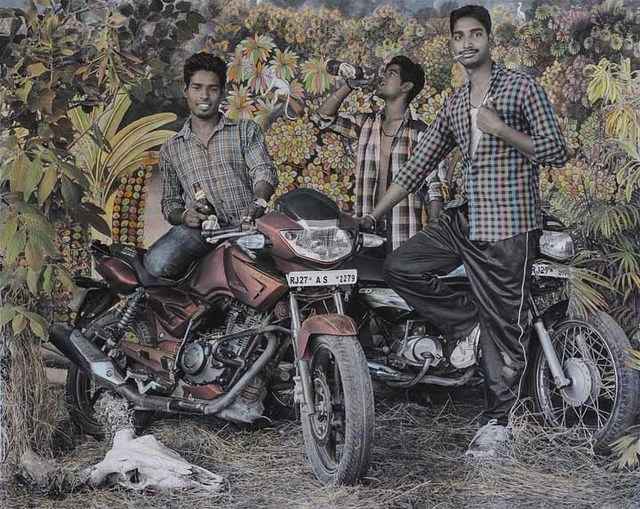 , 'Bike Boys,' 2015, Aicon Gallery