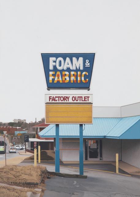 , 'Foam and Fabric,' 2017, Louis K. Meisel Gallery