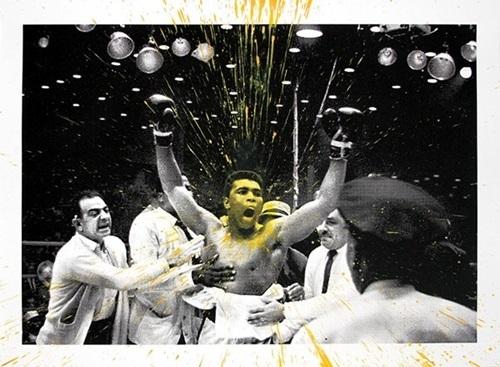 Mr. Brainwash, 'Absolute Ali (Yellow)', 2017, David Parker Gallery