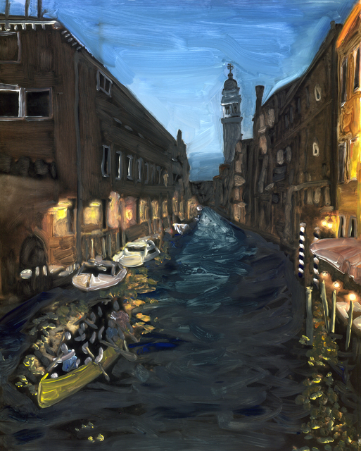 , 'Venice at night,' 2018, Marloe Gallery