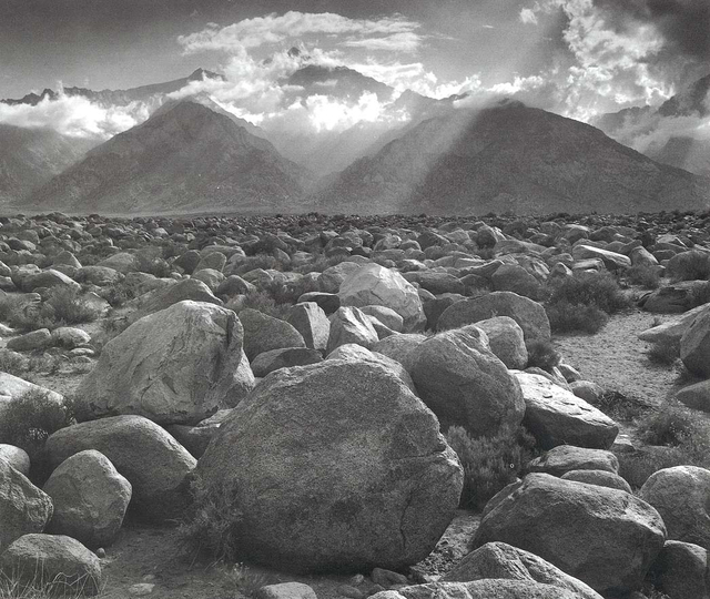 , 'Mount Williamson, Sierra Nevada, from Manzanar, CA,' 1944, Robert Mann Gallery