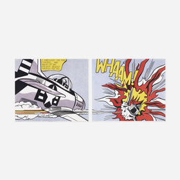 WHAAM! poster (diptych)