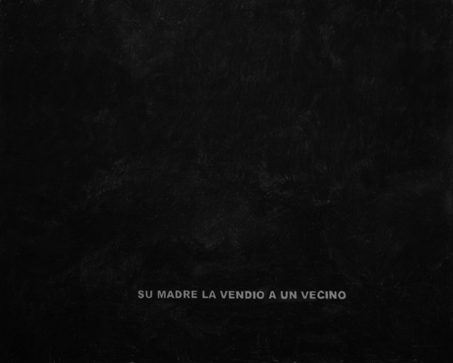 , 'Untitled ,' 2018, Machete