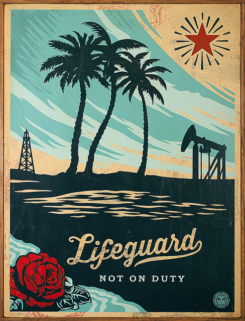 """, '""""Lifeguard Not on Duty"""",' 2014, Library Street Collective"""
