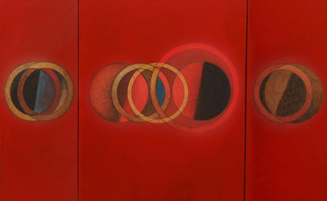 CARLOS GONZÁLEZ, 'Tríptico en Rojo', 2011, Enlace Arte Contemporáneo