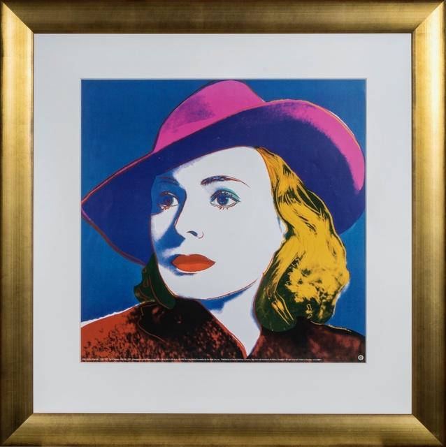 Andy Warhol, 'Ingrid Bergman: With Hat', 1993, Mamush Gallery