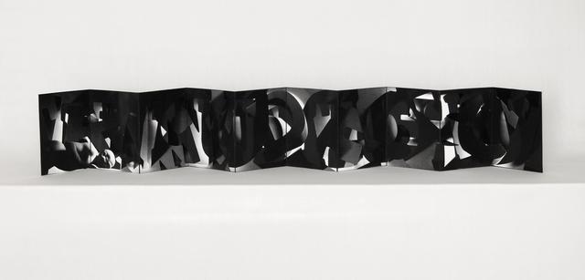 , 'Little Black Book,' 2016, Amos Eno Gallery