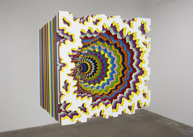 Jen Stark, '30 Cubed', 2019, Joshua Liner Gallery