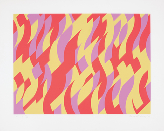 Bridget Riley, 'Carnival,' 2000, Phillips: Evening and Day Editions