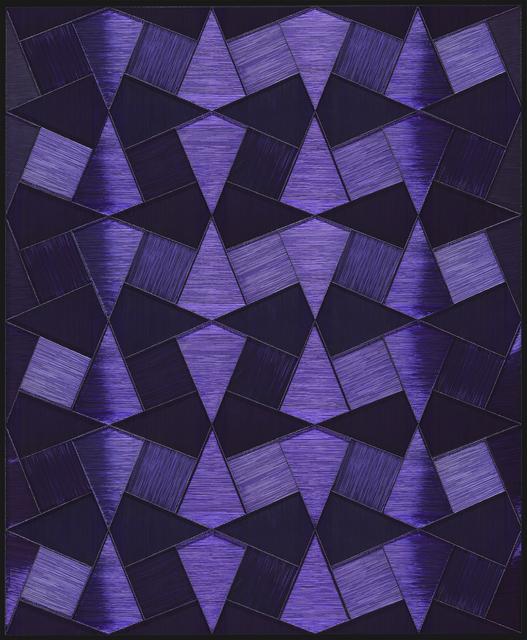 , 'Purple Pieces,' 2017, Pi Artworks Istanbul/London