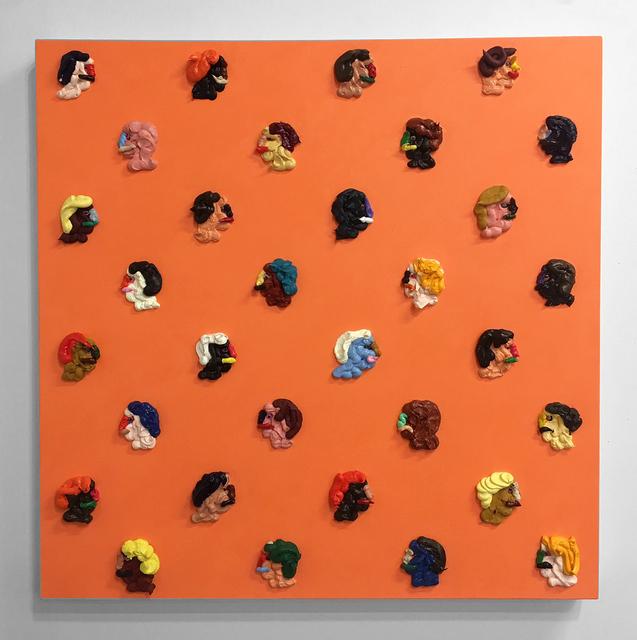 , 'Peach,' 2017, CES Gallery