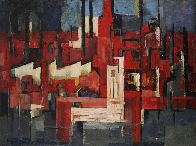, 'Industrial Landscape,' 1960, Charles Nodrum Gallery