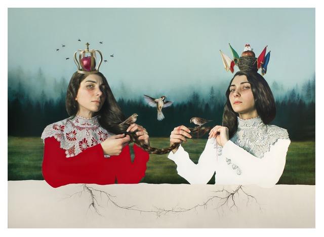 , 'L'altra Eva IV,' 2018, Liquid art system