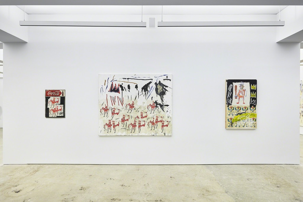 Jean-Michel Basquiat | Xerox. Installation view at Nahamd Contemporary. Photograph by Tom Powel Imaging