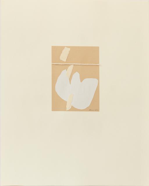 , 'Untitled IV (1),' 1977, Susan Eley Fine Art