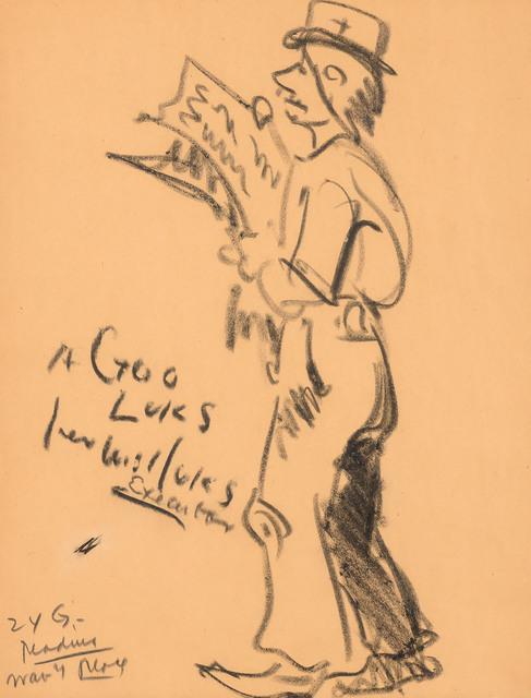 George Benjamin Luks, 'Hard Times', 1925, Doyle