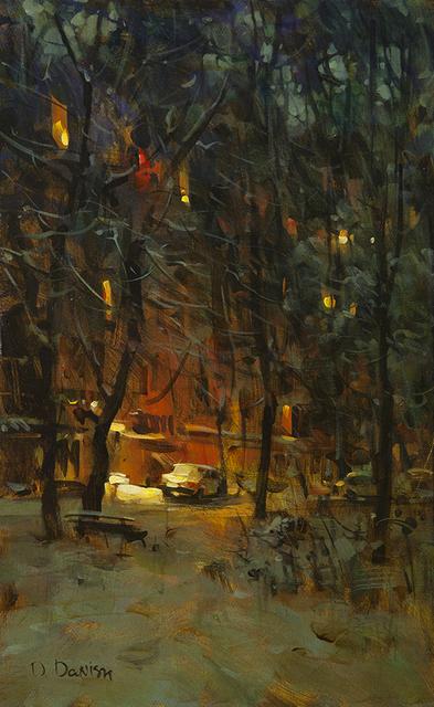 , 'Winter Street,' , Cutter & Cutter Fine Art