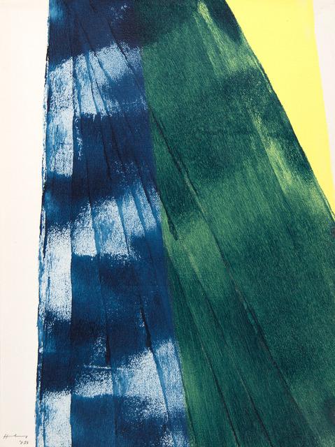 Hans Hartung, 'Proal Jean, Farandole', 1975, HELENE BAILLY GALLERY