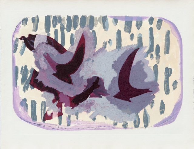 Georges Braque, 'Oiseaux VII', 1962, Print, Etching and aquatint, Goldmark Gallery