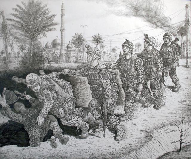 , 'The Blind Leading the Blind,' 2010, Track 16 Gallery