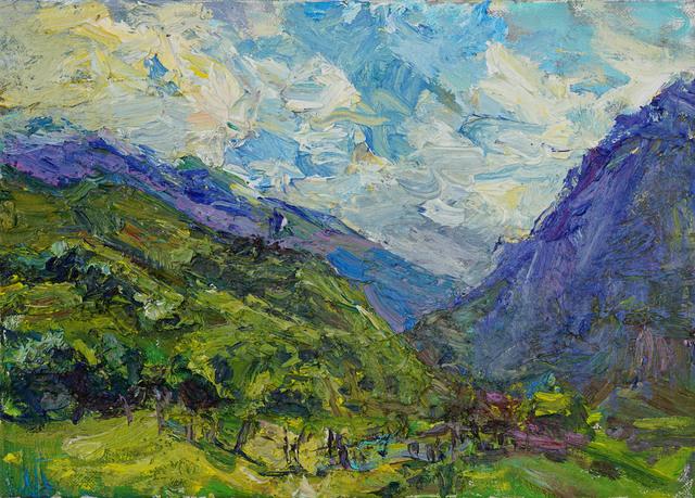, 'Mountain Landscape,' 2017, Gallery 1261