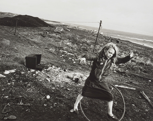 Chris Killip, 'Helen and Her Hula-hoop, Seacoal Camp, Lynemouth, Northumberland', 1984, Phillips