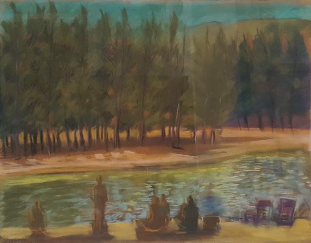 , 'Kalihiwai River,' 1984, Craig Krull Gallery