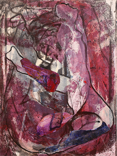 , 'Nude In Aubergine,' 1993, Bill Lowe Gallery