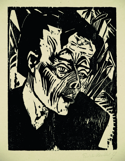 , 'Roquairol (Bildnis Ernst Ludwig Kirchner),' 1917, Henze & Ketterer