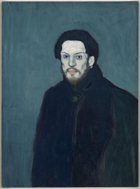 , 'Autoportrait (Self-portrait),' 1901, Musée Picasso Paris