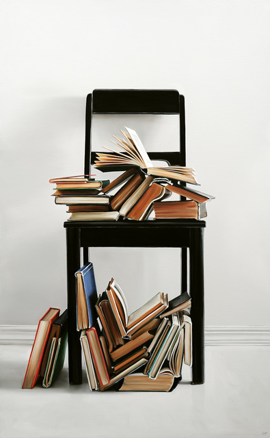 , 'Chair & Books I,' 2019, George Billis Gallery