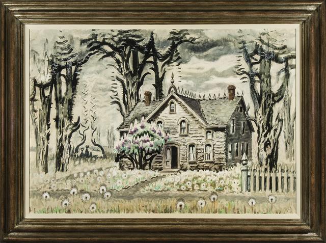 , 'Lilacs, No. 2,' about 1939–63, Hirschl & Adler Modern