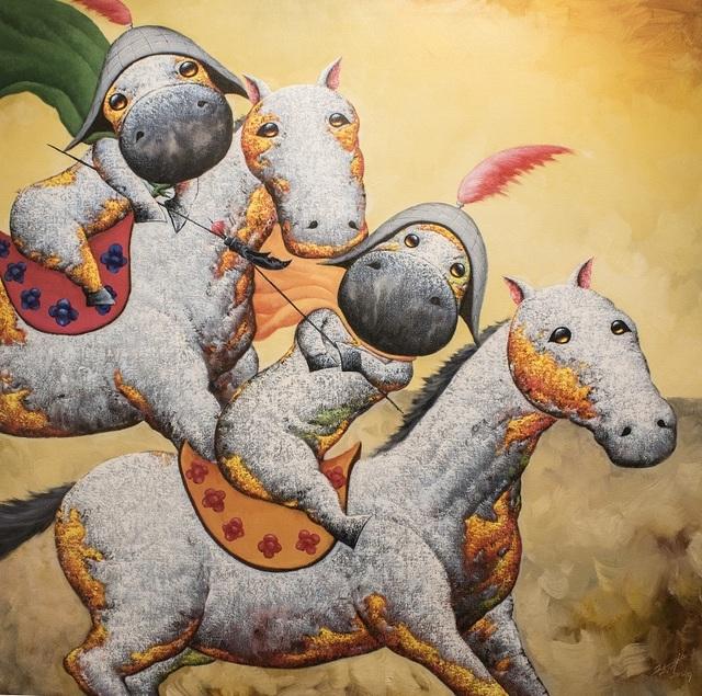 , '凯旋归来 II Victorious II,' 2015, Art WeMe Contemporary Gallery