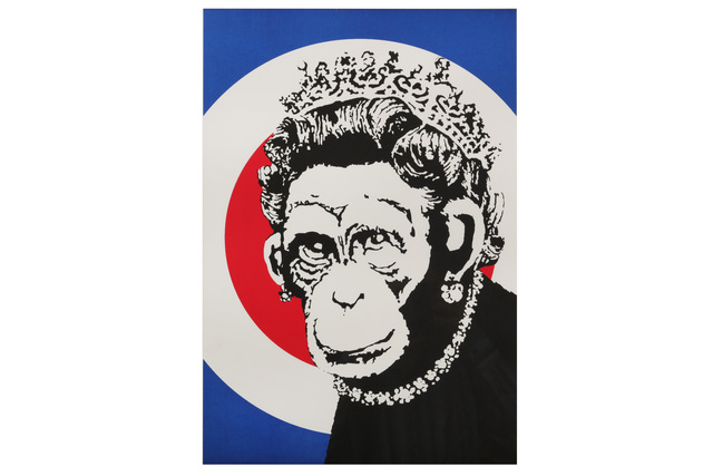Banksy, 'Monkey Queen', 2003, Print, Chiswick Auctions