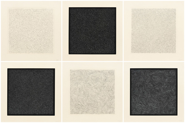 , 'Line Etchings,' 2000, Pace Prints