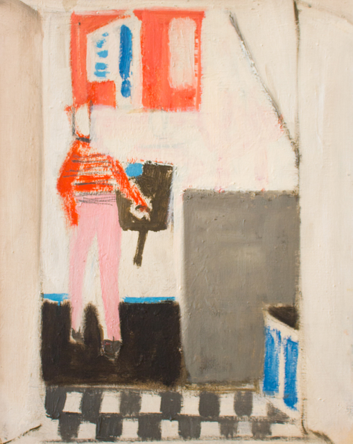 , 'Figure Rouge dans un Interieur,' 1974, Reynolds Gallery