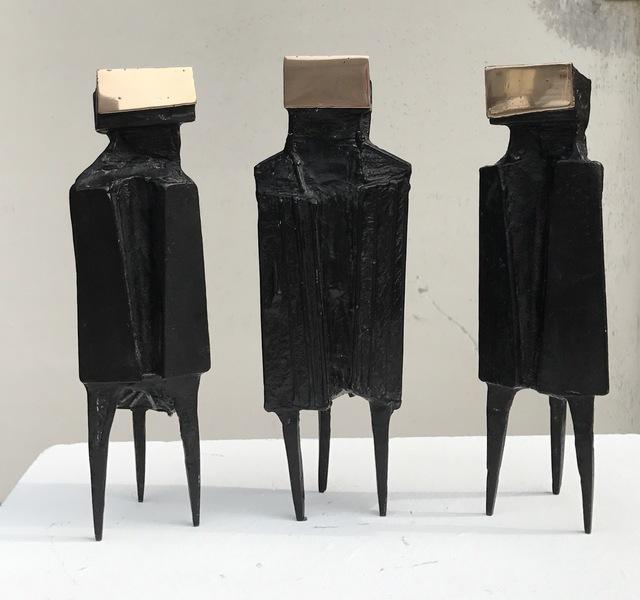 Lynn Chadwick, 'Three watchers', 1977, Okker Art Gallery