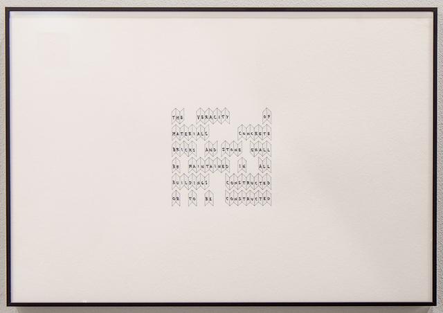 , 'The Veracity,' 2015, Sabrina Amrani