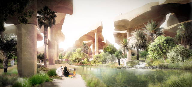 , 'Al Fayah Park, Abu Dhabi,' 2010, Hammer Museum