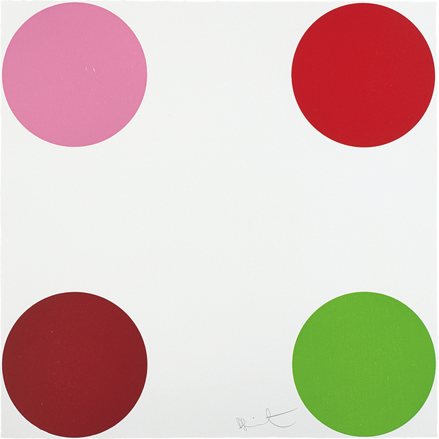 Damien Hirst, 'Curare, from 40 Woodcut Spots', 2011, Phillips