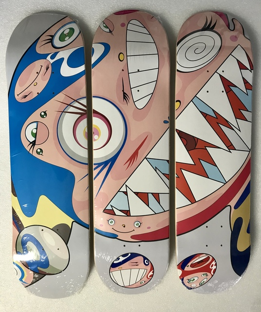 Takashi Murakami, 'Flying Dob Deck Set (Grey)', 2018, Pop Fine Art