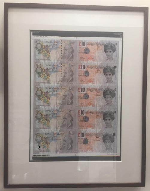 Banksy, 'Di-Faced Tenners (Signed Sheet)', 2004, Prescription Art