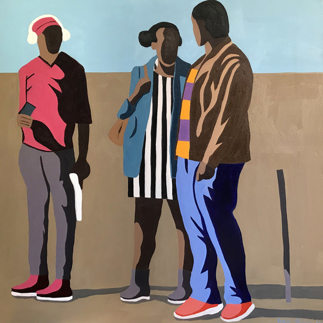 Shakes Tembani, 'Two Men and a Lady', 2019, Opulent Living Gallery