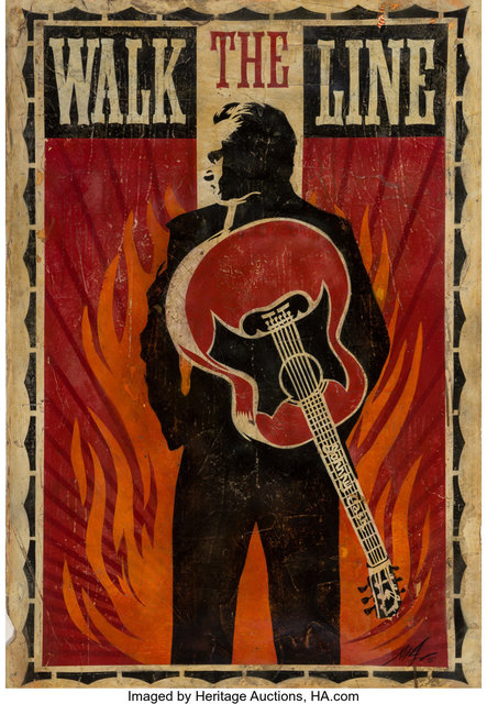 Shepard Fairey, 'Walk The Line', 2005, Heritage Auctions