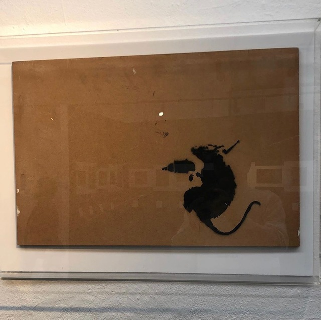 "Banksy, '""Drill Rat""', 2003, MultiplesInc Projects"