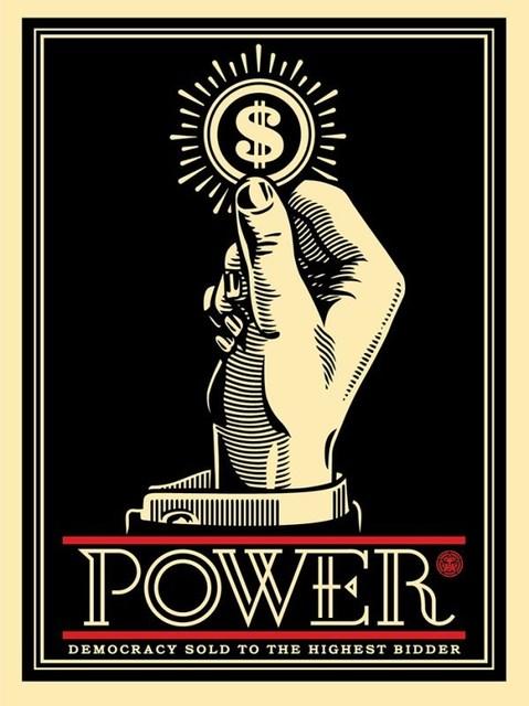, 'Power Bidder,' 2015, AYNAC Gallery