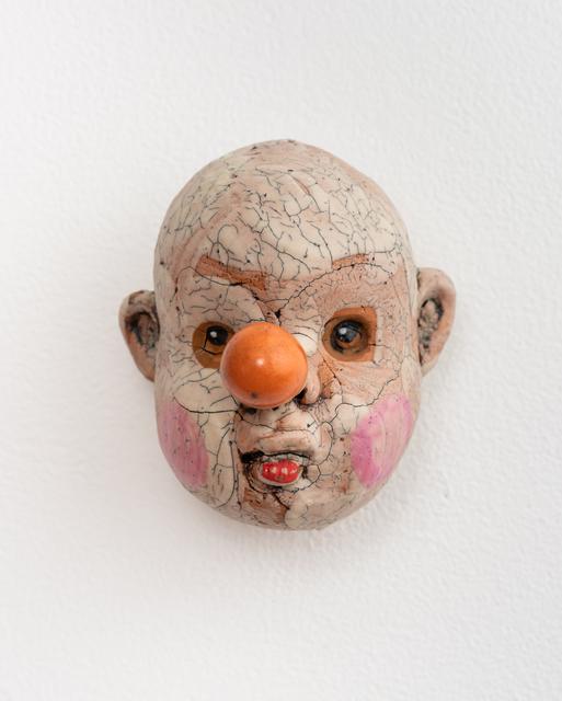 , 'Medium Doll Head, Orange Nose,' 2018, Eutectic Gallery