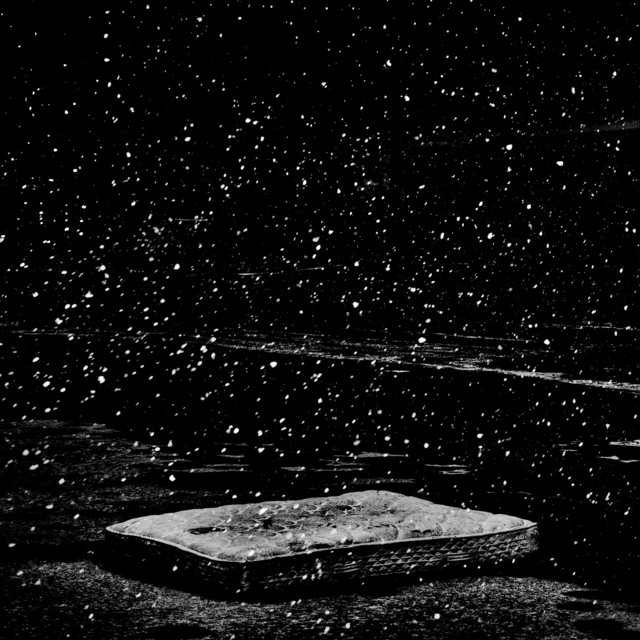, 'Snowfall behind a shuttered K-Mart. Flint, Michigan, USA,' 2016, Magnum Photos
